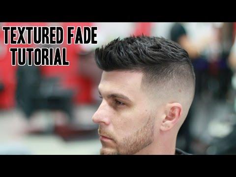 Textured Fade Barber Tutorial! Straight Razor Beard Trim!