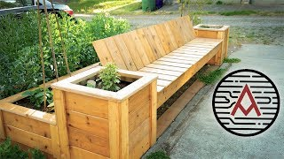 Raised Bed Bench | How To