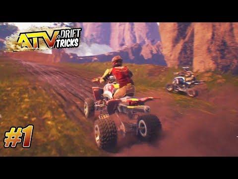 ATV Drift & Tricks - PS4 Pro Gameplay Playthrough - Painless Ride - (Beginner) PART 1