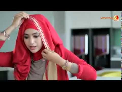 Video Tutorial Jilbab Pashmina Untuk Menghadiri Acara Semi Formal Yang  Cantik By Natasha Farani Liputan 6