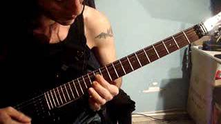 Christian Death  - deathwish guitar cover