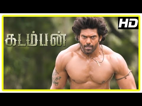 Kadamban Tamil Movie   Arya Introduction Scene   Catherine Tresa   Yuvan Shankar Raja