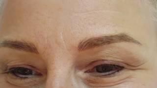 Mature skin Microblading & Permanent Eyeliner Makeup by El Truchan