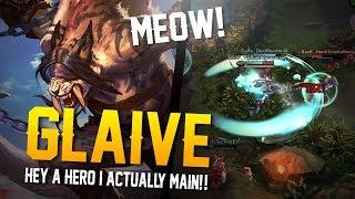 Vainglory YoloQ - Ep 38: MEOW!! Glaive |WP| Lane Gameplay