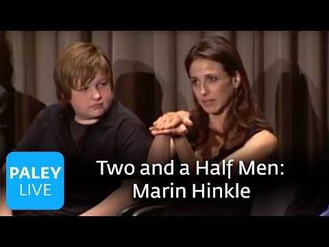 Two and a Half Men - Marin Hinkle's Character (Paley Center Interview)