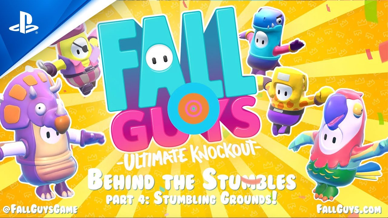 New Fall Guys BTS video enters the Stumble Grounds