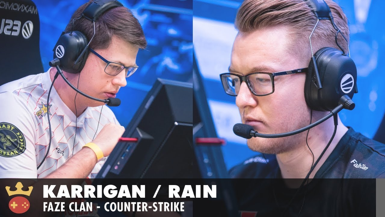 Video of Interview with karrigan & rain from FaZe Clan at IEM Cologne 2021