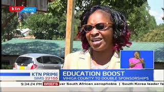 Vihiga county to double the number of the student receiving the scholarship