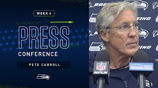 Head Coach Pete Carroll Week 4 Friday Press Conference | 2019 Seattle Seahawks