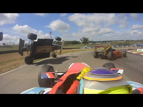 F4 US Driver Benjamin Pedersen Takes a Wild Ride at Mid-Ohio Sports Car Course