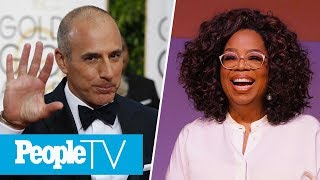 Matt Lauer Breaks His Silence On Rape Allegation, Oprah