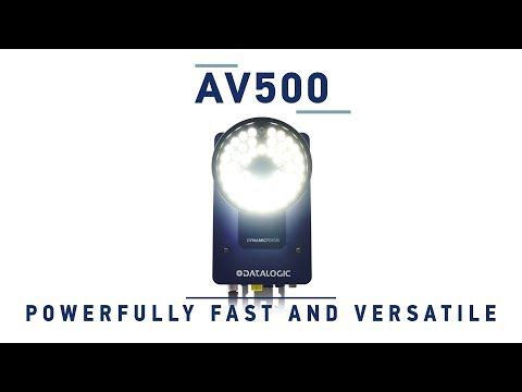 Datalogic AV500 - Powerfully fast and versatile