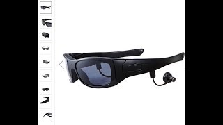 KALOAD SM21 Plus 1080P Camera Video Bluetooth MP3 Outdoor Sports Sunglasses