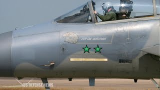 Here's the Awesome Reason Some U.S. Air Force Fighter Jets Have Green Stars