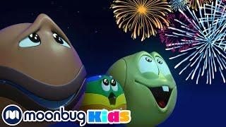 Салют! | ЧУДО МЯЧИКИ |Детские мультики | Детские песни | Moonbug Kids