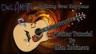Nothing Ever Happens - Del Amitri - Acoustic Guitar Lesson