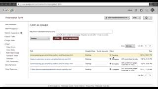 How To Index Web Pages In Minutes Using Fetch As Google