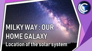 Milky Way : Our home galaxy | Location of the Solar System