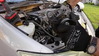 Замена генератора на Toyota Camry 2.4 2004 г. Заделался автомехаником!