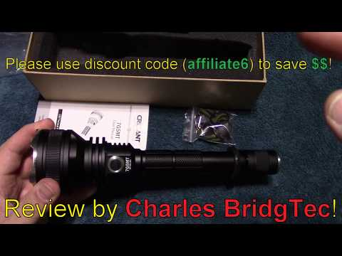 Crelant 7G5MT Flashlight Review!