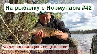 Фидер на водохранилище весной : На рыбалку с Нормундом #42