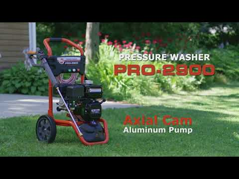 Product Video, PRO-2900 Pressure Washer