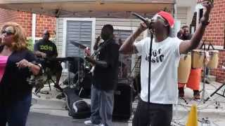 PROJECT 360 BAND (( CHUCK BROWN)) block party. 4th WARD Day