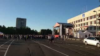 Кириши Ленинградская область День города 25мая 2018