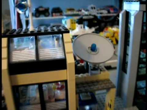Legotown TV Station Tour - A Tyler Lego Town Tour - Television News Team