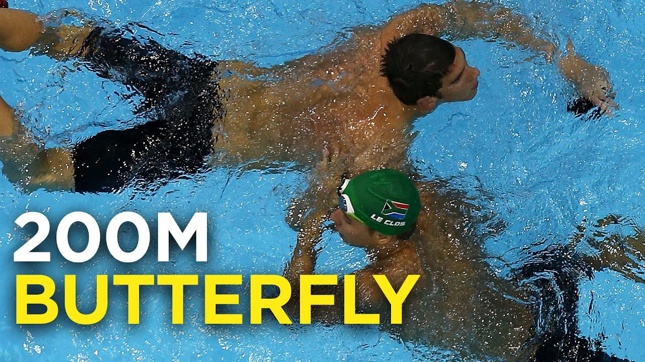 Michael Phelps vs. Chad Le Clos, the rivalry   200M butterfly   Rio Olympics 2016 thumbnail