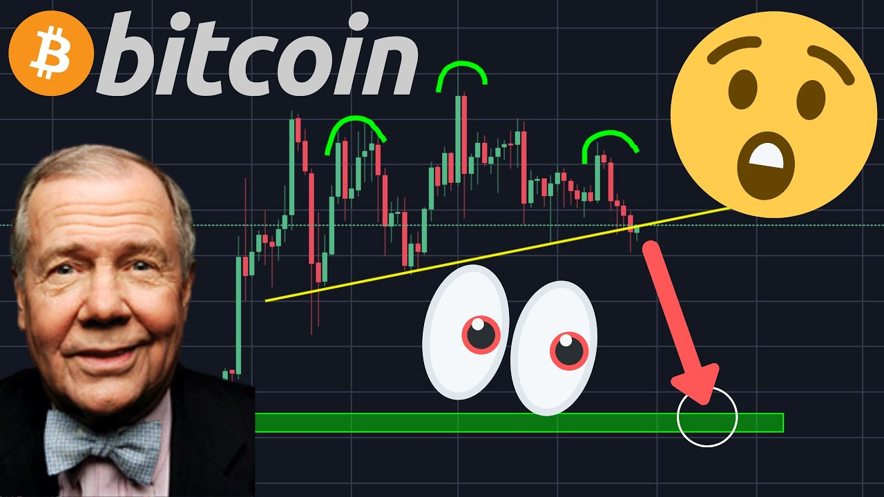 THIS BITCOIN CHART SAYS A -19% DUMP IS COMING!!!!?? | JIM ROGERS SAYS BTC WILL BE ELIMINATED?!!