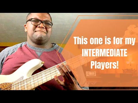 Intermediate Bass Groove // #TeachMeTuesday