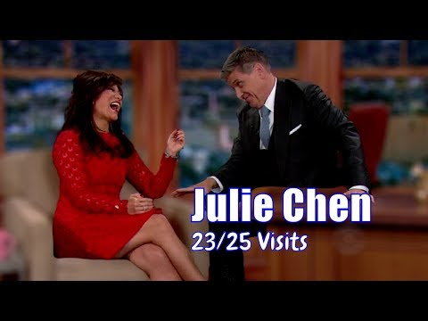 Julie Chen - Is Married To Craig's Boss - 23/25 Visits In Chronological Order