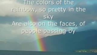 Somewhere Over the Rainbow by Israel Kamakawiwo'ole LYRICS