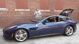 Смотреть онлайн Обзор Ferrari GTC 4 Lusso