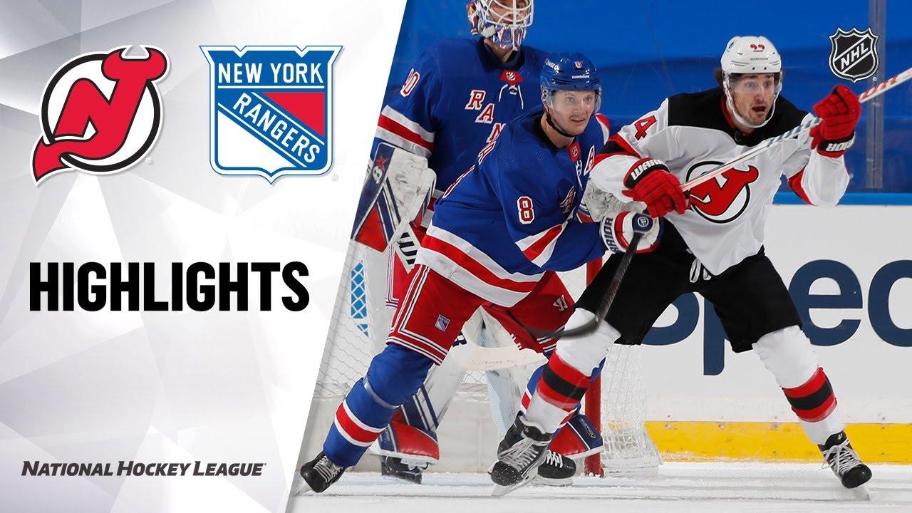 Devils vs Rangers | Tuesday, January 19, 2021