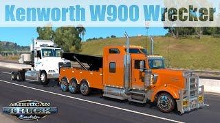 ATS Mods - Kenworth W900 Wrecker V1.2