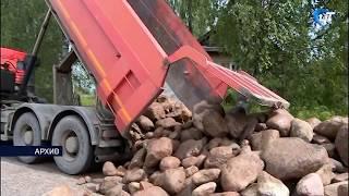 В 638 миллионов рублей оценивается ущерб дорогам Новгородской области от ливней