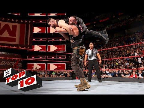 Download Top 10 Raw moments: WWE Top 10, April 30, 2018 Mp4 HD Video and MP3