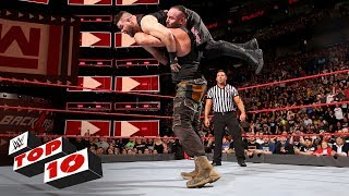 Top 10 Raw moments: WWE Top 10, April 30, 2018 - Video Youtube