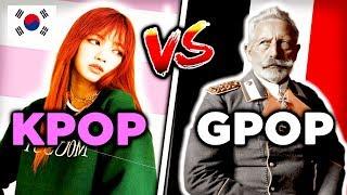 K-POP Vs G-POP (German Pop)
