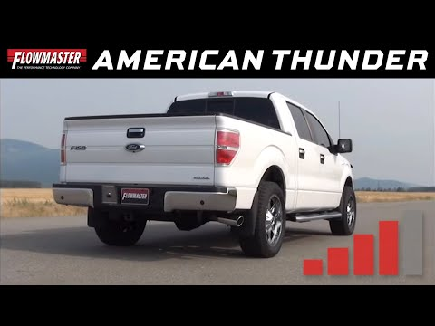 2009-14 Ford F-150 All V8 engines - American Thunder Cat-back Exhaust System 817567