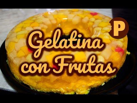 Vídeo Gelatina con Frutas