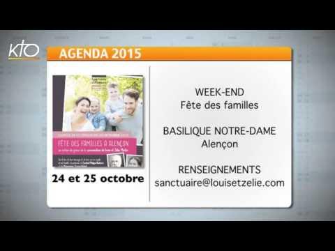 Agenda du 16 octobre 2015