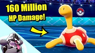 Shuckle  - (Pokémon) - How to Deal 160 Million HP Damage in Pokémon Sword & Shield