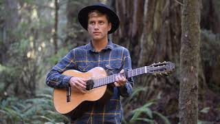Passenger - Where The Lights Hang Low (Cover by Jonathan Cady, Live in the Redwoods)