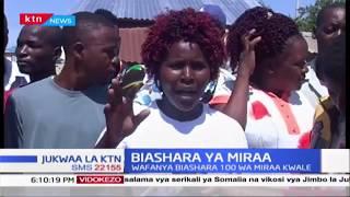 Wafanyibiashara wa Miraa Kwale walaumu maafisa wa KRA wakidai waliharibu mali yao
