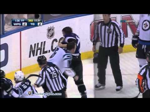Victor Hedman vs. Andrew Ladd