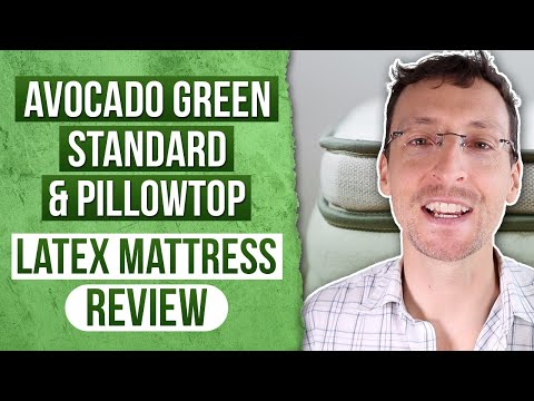 Avocado Green Standard & Pillowtop Latex Mattress Review