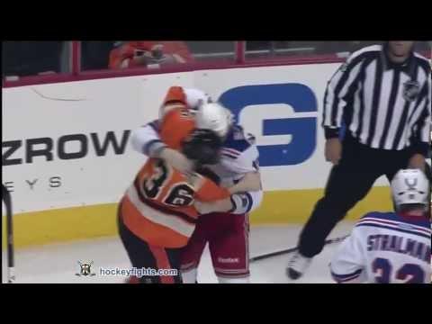 Zac Rinaldo vs. Brandon Dubinsky